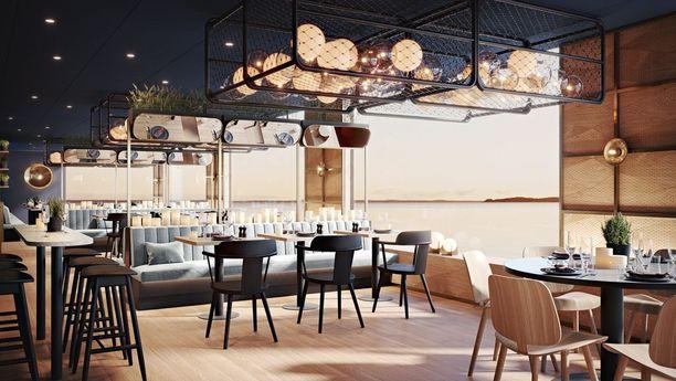 Vuonna 2020 valmistuvan laivan sisätilat on suunnitellut ruotsalainen arkkitehtitoimisto Koncept Stockholm.