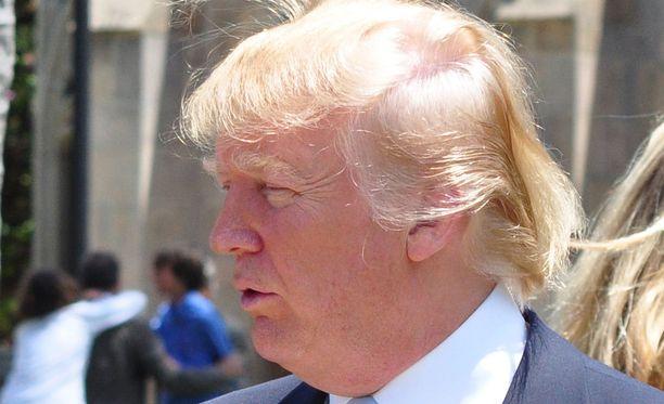 Takatukka on Trumpin mieleen.