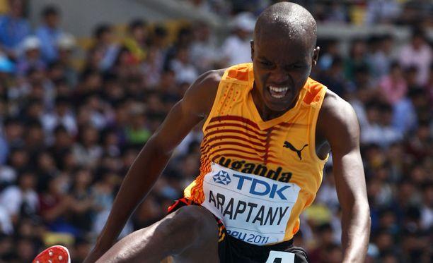 Jacob Araptanyn finaalijuoksu Riossa päättyi kaatumiseen. Arkistokuva.