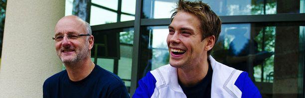 Päävalmentaja Henrik Dettman ja avainpelaaja Petteri Koponen ovat hilanneet Suomea ylöspäin.