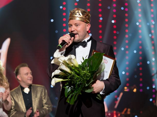 Tuore tangokuningas on Jarno Kokko.