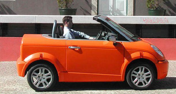 Thinkin mallistosta löytyy perinteisten mallien lisäksi myös avoautoja.