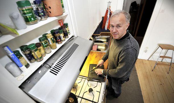 Kotona Veli-Pekka Hänninen saattoi syödä leipää puolen tunnin välein.