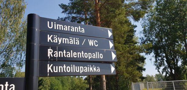 Vantaan Vesikannas on erittäin suosittu uimaranta.