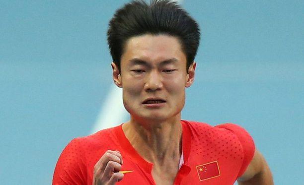 Peimeng Zhang jäi täpärästi finaalin ulkopuolelle.