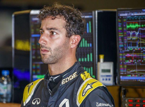Daniel Ricciardolla ei ole rahahuolia.
