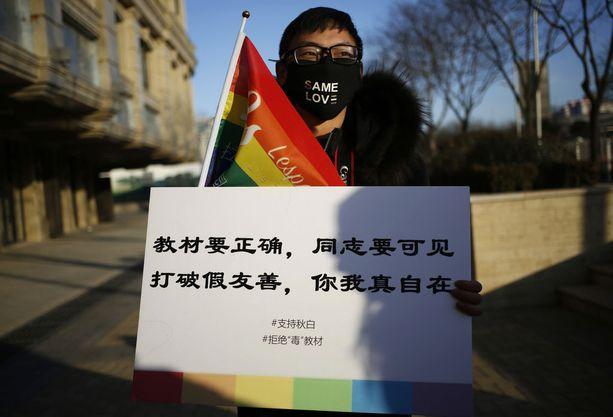 Ihmisoikeuksien puolustajat vaativat tammikuussa, että tavan, jolla homoseksuaalisuudesta opetetaan, tulisi muuttua.