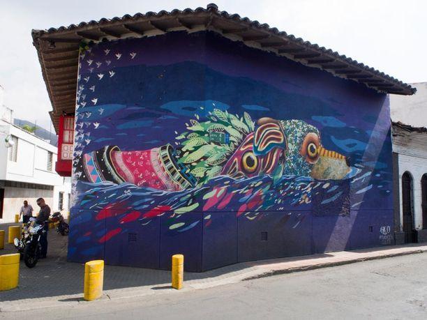 Paikka: Cali, Kolumbia.