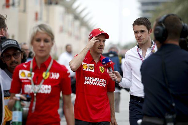 Sebastian Vettelin viikonloppu Bahrainissa oli tallikaveriin verrattuna heikko.