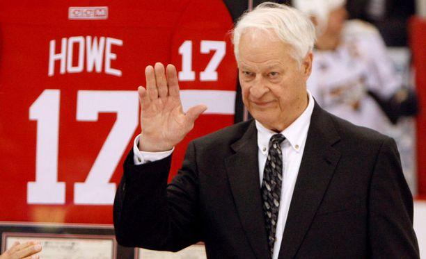 Detroit-legenda Gordie Howe on kuollut.