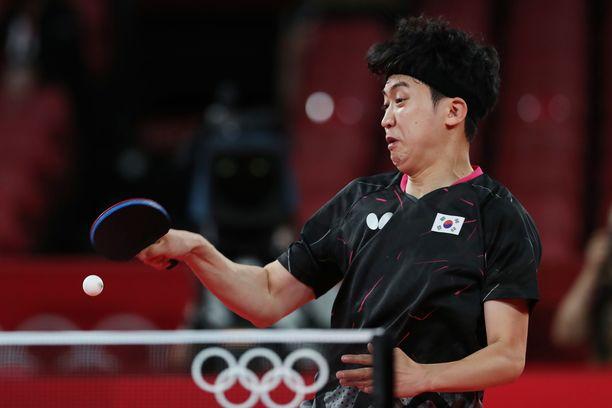Jeoung Youngsik voitti kreikkalaisvastustajansa erin 4–3.