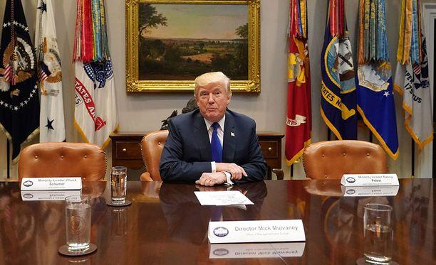 Donald Trump kommentoi tuoreeltaan Pohjois-Korean ohjuskoetta sanoen Yhdysvaltain hoitavan asian.