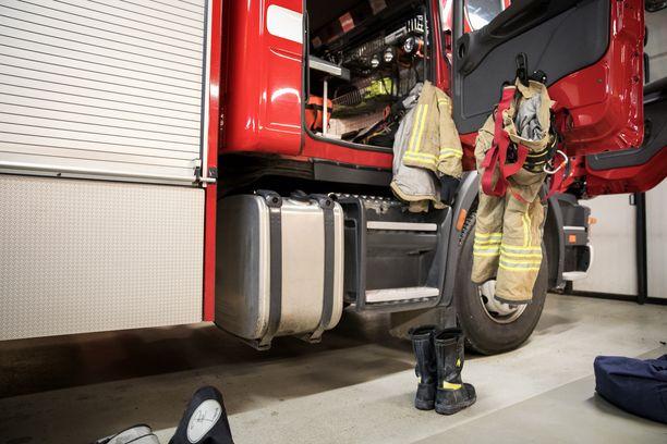 Suuri tulipalo työllisti Etelä-Savon pelastuslaitosta lauantaiaamuna. Kuvituskuva.