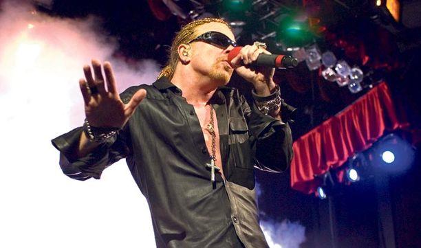 Axl Rosen johtama bändi esiintyy kesäkuussa Helsingissä.
