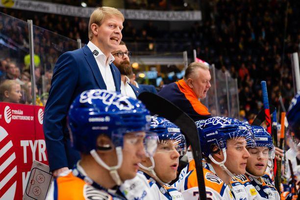 Jukka Rautakorven Tappara on hävinnyt kaksi tuoreinta Tampereen paikallisottelua.