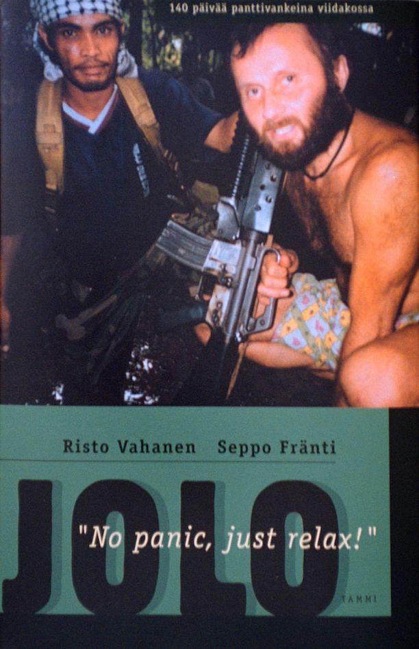 Risto Vahanen ja Seppo Fränti kirjoittivat myös kirjan Jolon panttivankidraamasta.