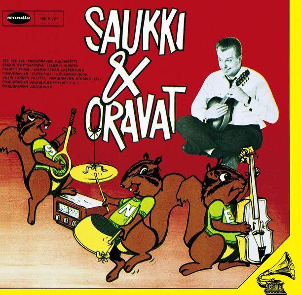 Saukki & Oravat oli Sauvo Puhtilan tunnetuimpia levytyksiä.