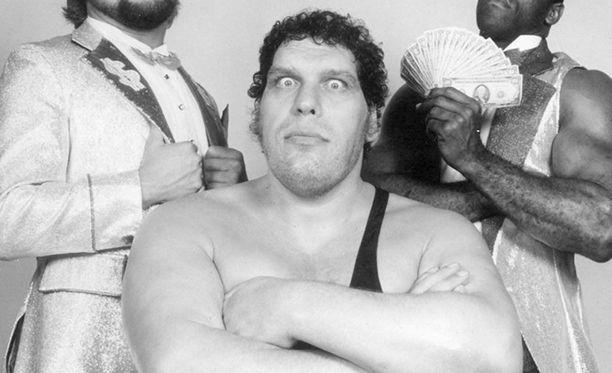 André the Giant nousi maailmankuuluksi tähdeksi 1970-luvulla.