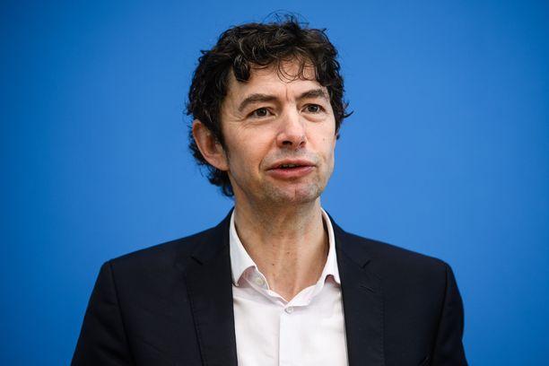 Virologiainstituutti Charite Berlinin johtaja Christian Drosten.