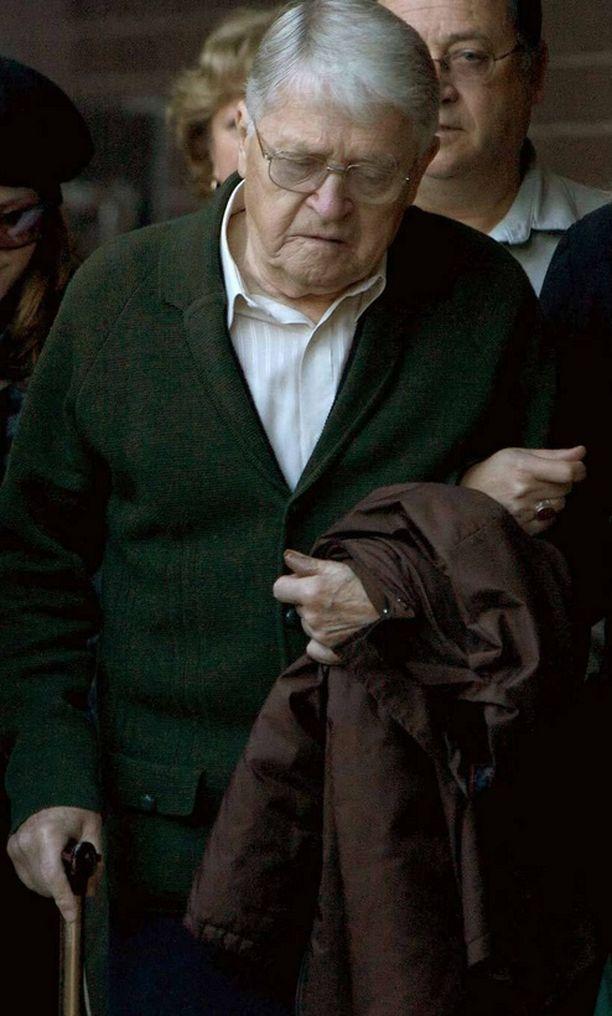 Natsirikolliseksi epäilty Charles Zentai oikeudenkäynnissä vuonna 2009.
