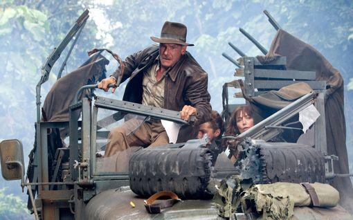 Uusi Indiana Jones -elokuva sai kovan tähtikaartin