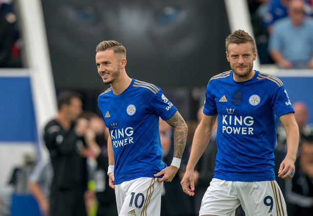 James Maddisonin ja Jamie Vardyn tähdittämä Leicester on valmis lyömään Chelsean.