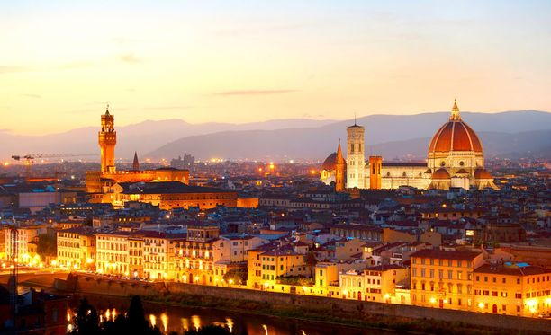 Rikoksen epäillään tapahtuneen Italian Firenzessä.