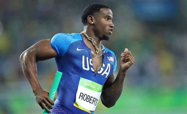 Gil Roberts on yksi Yhdysvaltain parhaita sprinttereitä.