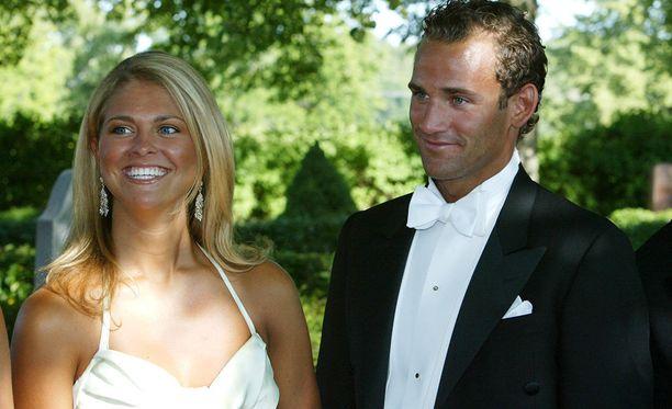 Prinsessa Madeleine ja Jonas Bergström seurustelivat vuodet 2002-2010.