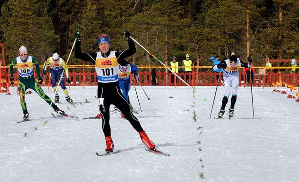 Lepistön tyylinäyte nuorten SM-sprintistä vuodelta 2014.