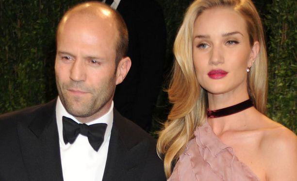 Jason Stathamilla ja Rosie Huntington-Whiteleylla on reilusti ikäeroa.
