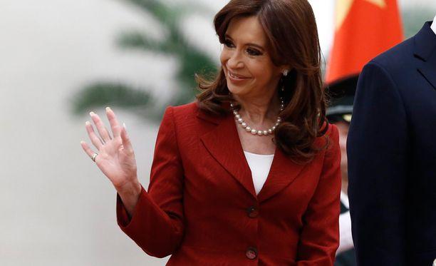 Huolet painavat presidenttiä Argentiinassa.