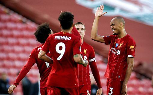 Pitkä piina on vihdoin ohi! Liverpool varmisti Valioliigan mestaruuden