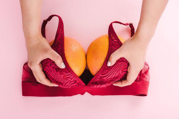 Raskaus ja imetys muuttavat rintoja, mutta muutosten merkittävyys on yksilöllistä.