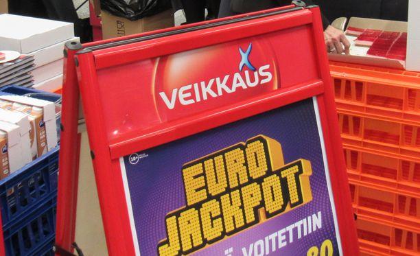 Suomalaista nettipelaajaa onnisti perjantain Eurojackpotissa. Kuvituskuva.
