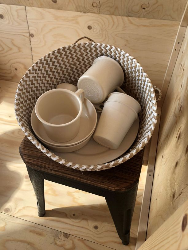 Eco Soulife -merkkiset astiat on valmistettu bambusta.