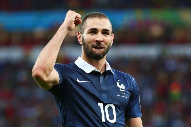 Karim Benzema on johtanut Ranskan vahvaa MM-marssia.