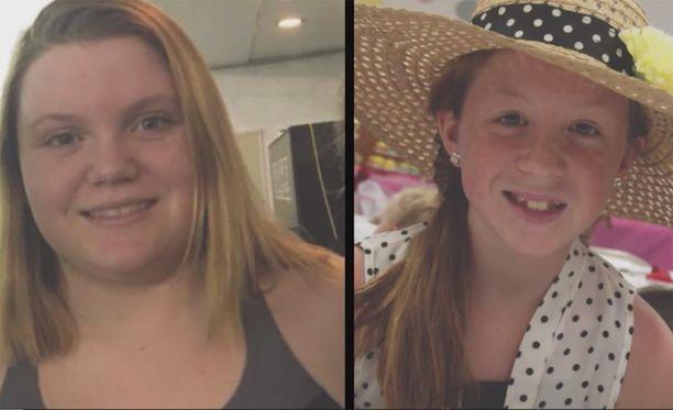 """Kaksi teinityttöä, 14-vuotias Liberty """"Abby"""" German ja 13-vuotias Abigail """"Abby"""" Williams, löydettiin kuolleina 14. helmikuuta Delphistä, Indianan osavaltiosta."""