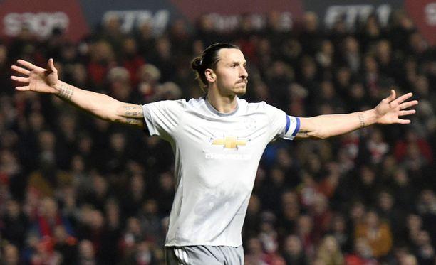 Zlatan Ibrahimovic on siirtymässä MLS:ään.