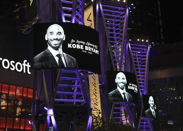 Kobe Bryant menehtyi tammikuussa 41-vuotiaana.