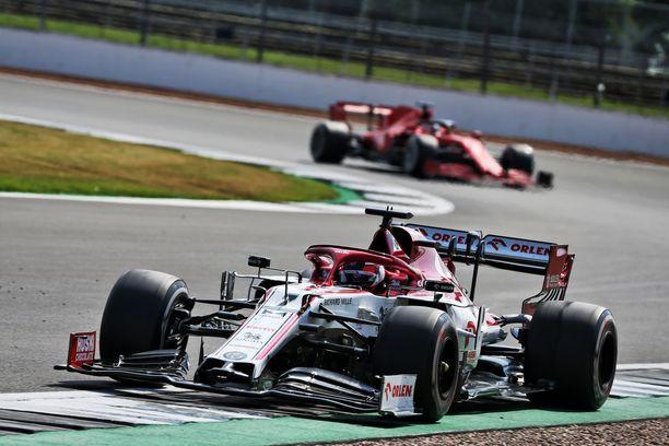 Kimi Räikkönen teki Alfa Romeon ratissa sen minkä pystyi.