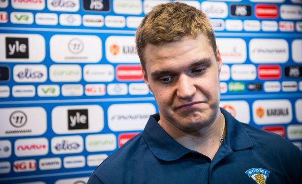 Aleksander Barkov on Leijonien ja Panthersin ykkössentteri.