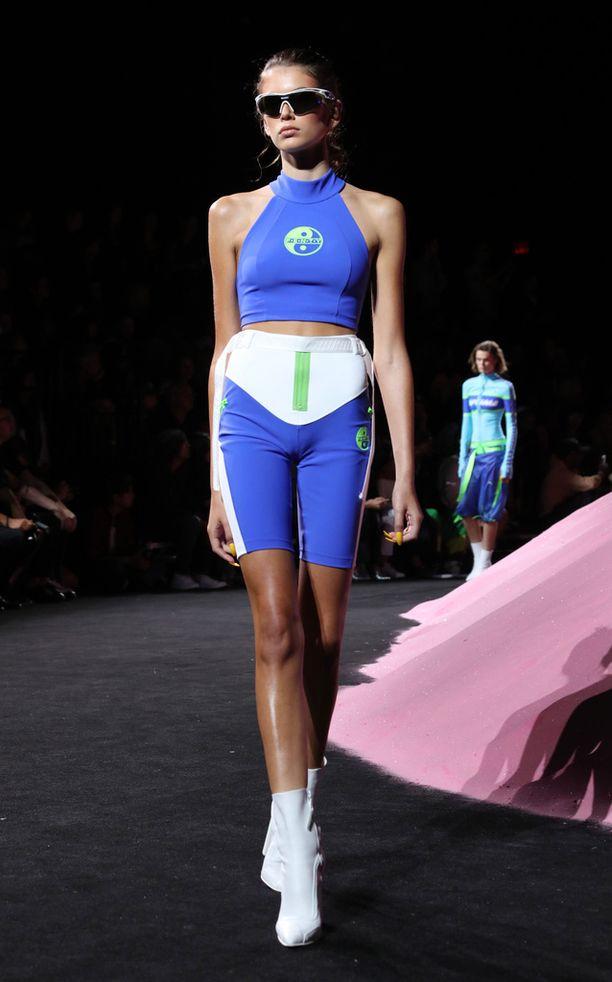 Lyhyet trikoot kuuluvat myös Rihannan hehkutettuun Fenty Puma -mallistoon.