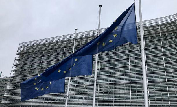 Seuraavaksi suurimman ryhmän Suomeen suuntautuvasta maahanmuuttoliikenteestä muodosti EU-kansalaisten rekisteröinnit, joka on 23 prosenttia koko osuudesta. Kuvituskuva.