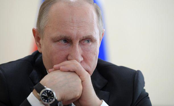 Vladimir Putinin johtama Venäjä aikoo vastata diplomaattikarkotuksiin.