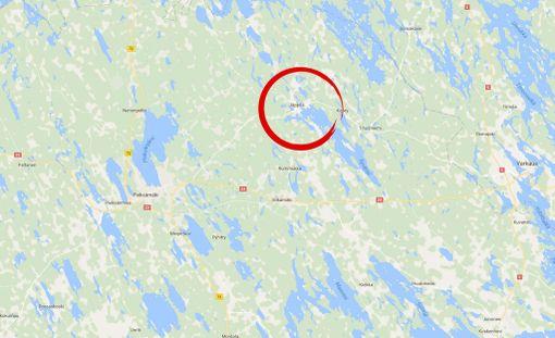 Onnettomuus tapahtui Maavedentiellä lähellä Jäppilää, missä silta ylittää salmen.