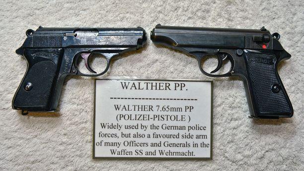 7.65-millinen Walther-pistooli on tunnettu paitsi kuvitteellisen James Bondin aseena myös saksalaisena virka-aseena.