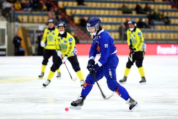 Tuomas Määttä ja Suomi saavuttivat 2019 MM-kisoissa pronssisijan.