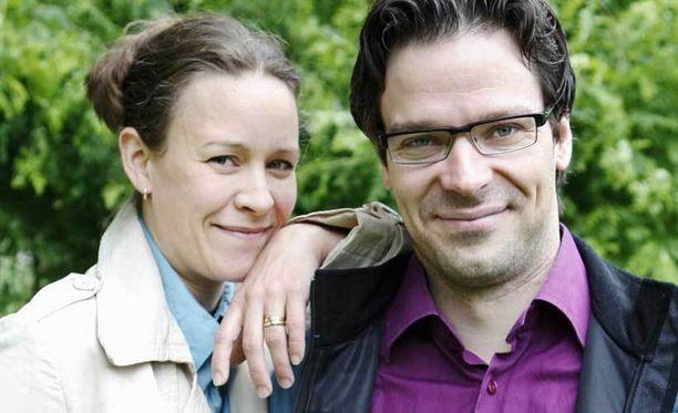 Ville Niinistö ja Maria Wetterstrand ovat olleet naimisissa vuodesta 2004.