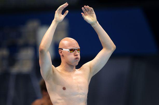 Matti Mattsson ui välierissä ensi yönä Suomen aikaa.
